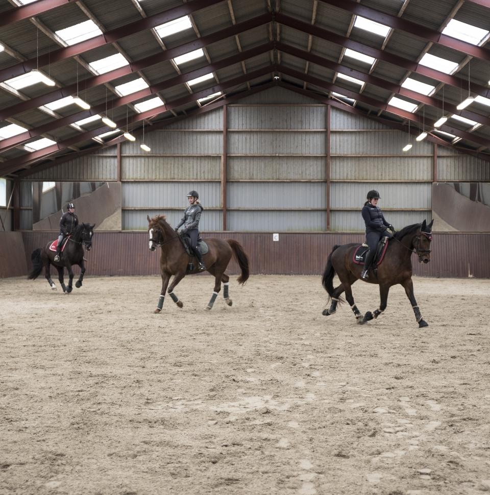 hest med på efterskole